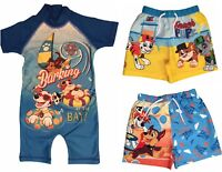 Boys Paw Patrol Swimwear Swim Shorts Sunsuit Ages 1.5 to 5 Years