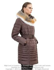 * Goose Down Coat Jacket Parka w/ Fox Fur sz S / US 6 / EU 38  $895 Пуховик Лиса