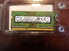 Samsung PC3-12800 4GB SO-DIMM 1600 MHz PC3-12800 DDR3 Memory (M471B5173QH0YK0)