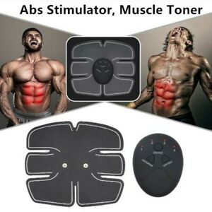 ABS TRAINER  MUSCLE STIMULATOR HOME GYM BELT WORKOUT EQUIPMENT FOR MEN WOMEN