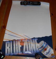 Original BEER Poster - Labatt's Blue - Blue Zone  - 1988 - White