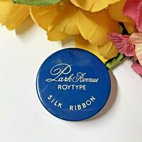 c1950 MCM VTG Typewriter Ribbon Tin-PARK AVENUE ROYTYPE-Royal-McBee Corp