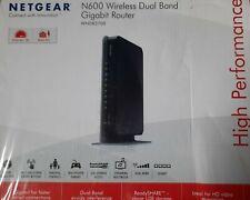 Netgear N600 Wireless Dual Band Gigabit Router OVP (WNDR3700)