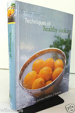 The Professional Chef's Techniques of Healthy Cooking by Culinary Institute