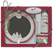 Child to Cherish - Santa's Message Plate Set - Northpole