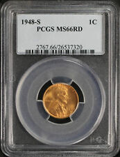1948-S Lincoln Wheat Cent PCGS MS-66RD -106492