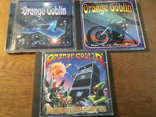 Orange Goblin [3 CD Alben] Time Travelling Blues + Big Black + Frequencies From
