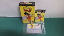 SNES -- DRAGON BALL Z  SAIYA DENSETSU-- Box. Super famicom. Japan. 12036