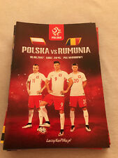 Programme qualifying match World Cup 2018: Poland-Romania 10.06.2017