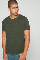 New Men's Size Banana Republic Dark Green Soft Wash Crew Neck T-Shirt NWOT - L