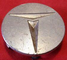 "Toyota wheel center cap hubcap metal, ""T"" 2-1/8"" wide machined vintage antique"