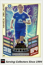 2012-13 Match Attax Extra Man Of Match Foil Card M4 Nikica Jelavic (Everton)