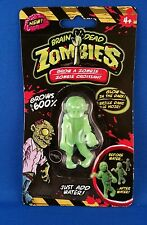 Brain dead zombies Glow in the dark Grows up to  600% Grow a Zombie! ages 4+