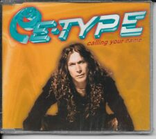 MAXI CD 4 TITRES--E-TYPE--CALLING YOUR NAME--1997----NEUF