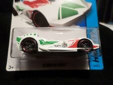 HW HOT WHEELS 2014 HW CITY #16/250 SCOOP DI FUEGO HOTWHEELS WHITE TRACK READY