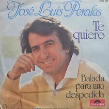 "7"" 1981 GERMAN PRESS MINT-Jose Luis Perales te quiero"