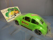 "VINTAGE PLASTIC MODEL No.xxx  V/W  BEETLE ""THE BOMB"" SALOON CAR  ""GREEN "" MIB"