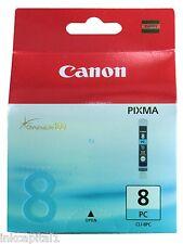 1 x Canon Original OEM CLI8PC, CLI8 Photo Cyan Inkjet Cartridge