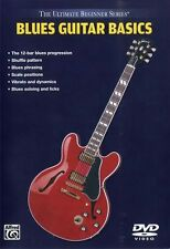 Ultimate Beginner Blues Guitar Basics Learn to Play Lesson Easy Music DVD