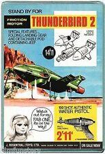 60's NOSTALGIA -THUNDERBIRDS - TV21 COMIC TB2 TOY ADVERT - JUMBO FRIDGE MAGNET