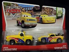 CARS 2 - JEFF GORVETTE & JOHN LASSETIRE - Disney Pixar