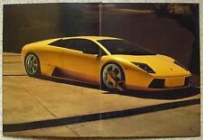 LAMBORGHINI MURCIELAGO SPORTS CAR Prestige Sales Brochure c2001? LIMITED EDITION
