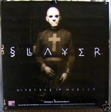"""Slayer """"Diabolus In Musica"""" 24""""x24"""" Promo Poster ©1998"""