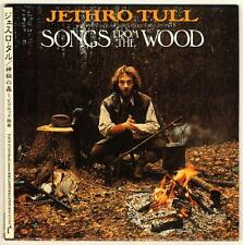 Jethro Tull: Songs from Wood Japan CD Mini-LP TOCP-67185 Mint (ian anderson Q