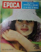 EPOCA N°573/ 24/SET/1961* ELEONORA ROSSI DRAGO  * LE PIU' BELLE DI MOSCA  *