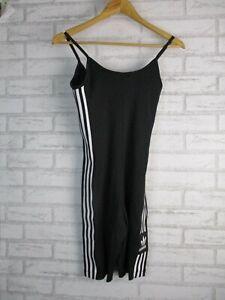 Adidas cycling suit UK 8 Womens BNWT Black solid spaghetti Straps w/ tag