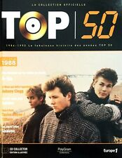 LIVRE + CD EDITION LA COLLECTION OFFICIELLE TOP 50 A-HA ANNEE 88 COMME NEUF