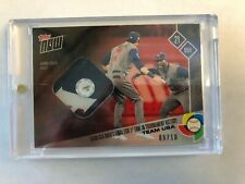 2017 Topps Now World Baseball Classic GOLD Team USA Relic 5/10