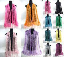 $2.45/eah, lot of 30 wholesale trendy design  semi-sheer fashion scarf