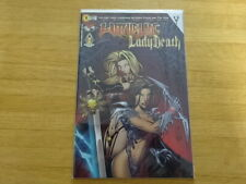 LTD ED WITCHBLADE LADY DEATH #1 SIGNED BY WOHL & MANAPUL LTD TO 199!