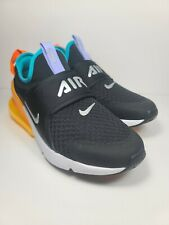 New listing Nike Air Max 270 Extreme (Gs) Black/Met Silver Size 6.5Y/Women'S 8 [Ci1108-006]