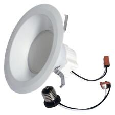 GE 65W Equivalent Soft White 2700K High Definition S6 Medium Base 6 in. LED Bulb