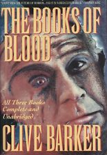 The Books Of Blood by Clive Barker (1988~HardcoverDJ~1st edition~BCE)