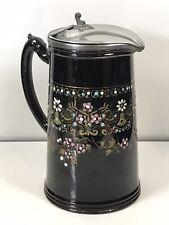 More details for antique sjb lidded jug pitcher samuel johnson burslem 1892 reg.des.no 205240