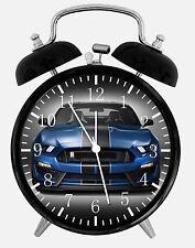 "Mustang GT Alarm Desk Clock 3.75"" Home or Office Decor E231 Nice For Gift"