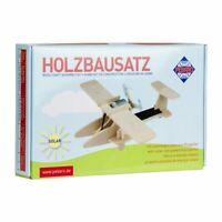 PEBARO Solar Holzbausatz Sport-Flugzeug mit Solarfunktion