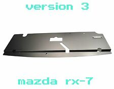 86-91 Mazda RX7 FC Aluminum Radiator Cooling Panel Custom FC3S 13B Rotary V3