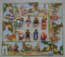 """Satz """"50 Jahre Asterix - Jubiläumsserie"""" 2009 mit allen 8 verschiedenen BPZ """"EU"""""""