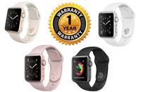 Apple Watch Series 2 38 42mm Aluminum Stainless Steel Sport Band 1 Year Warranty