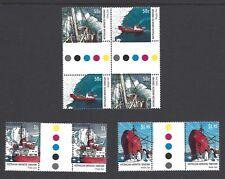 AAT 2003 buques de suministro Antártico Juego de 4 pares de canalón Um/nhm