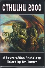 CTHULHU 2000 A LOVECRAFTIAN ANTHOLOGY - Hardcover Arkham House near fine