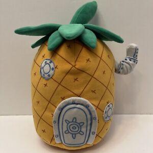 "Spongebob Squarepants Pineapple Home House TY Beanie Buddy 12"" Plush"