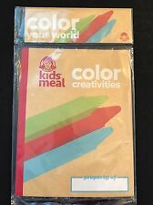 Wendy's Kids Meal Toy Color Creativities With Crayons New In Package
