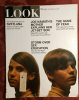 LOOK September 9 1969 Sept Sep 69 SEX EDU LOTTI GOLDEN JOE NAMATH CZECHOSLOVAKIA
