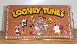 LOONEY TUNES GANG CHECKBOOK COVER # 2. BUGS, TAZ, TWEETY, MARVIN......FREE SHIP.