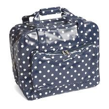 Brand New Navy Polka Dot Sewing Machine Premium Carry Storage Bag MR466032